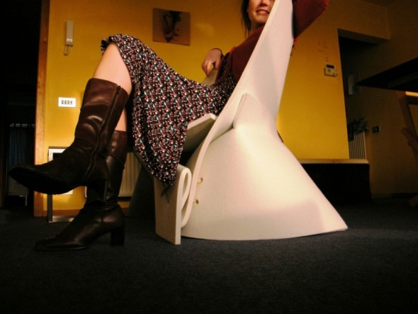 The FF1 Chair by Fox Freeze girl