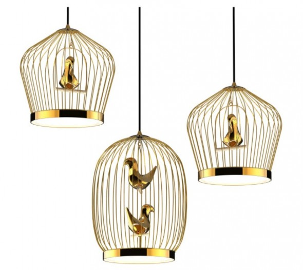 Tweetie Pendant Light by jakephipps