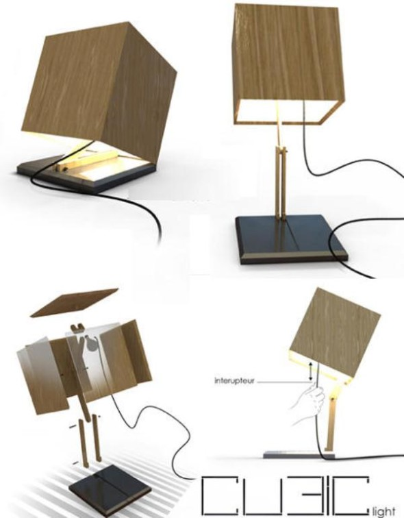 Versatile Cubic Light by Edward Battistini