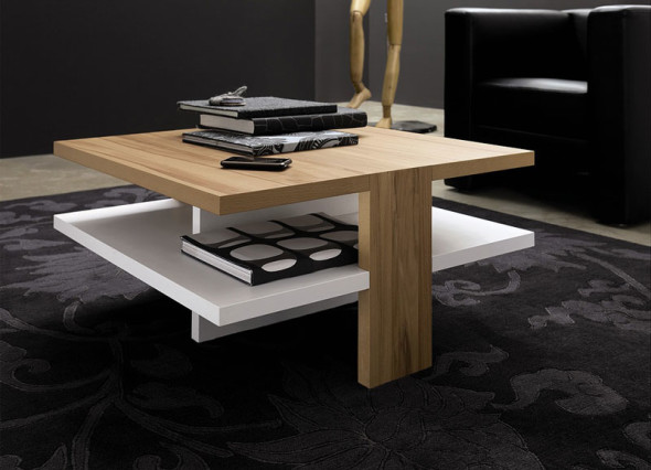 Wooden CT-130 Coffee Table by Hulsta