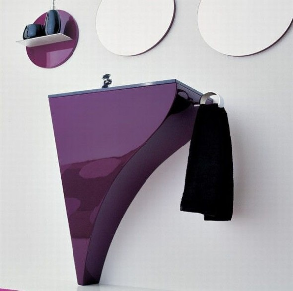 detail washbasin bathroom modern by Novello Interior