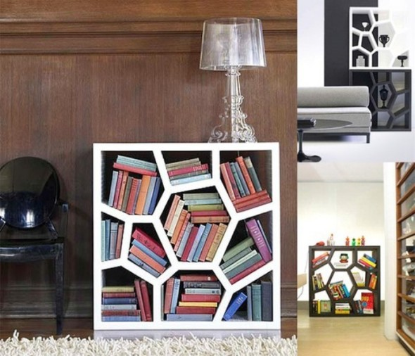quasi-hexagonal Best Bookshelf