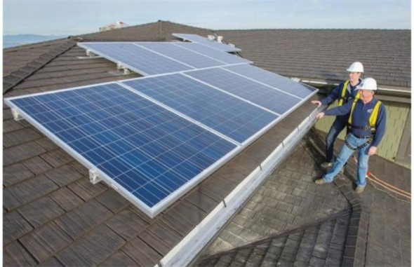 solar water heater instalation-Technology at Home