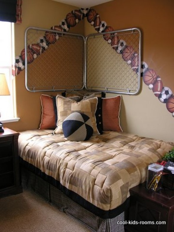 wall ideas for decorating boys bedroom