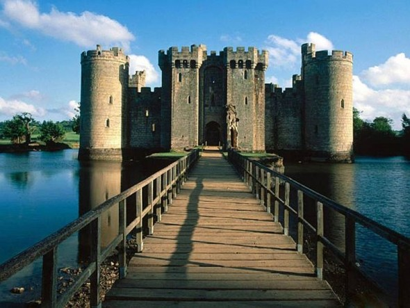 Bodiam Castle Belgium East Sussex England