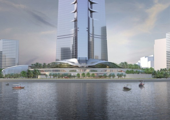 Canopies Kingdom Tower Architecture