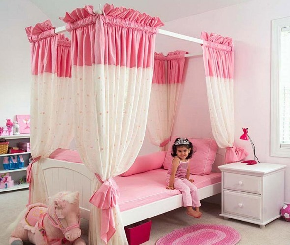 Interior Decorating For Pink Girls Bedroom