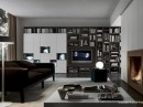 Living Room Storage Presotto Italia