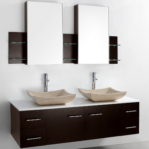 Mounted Double Bathroom Vanity
