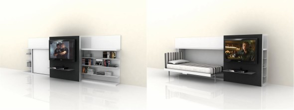 Poppi TV Unit Bed