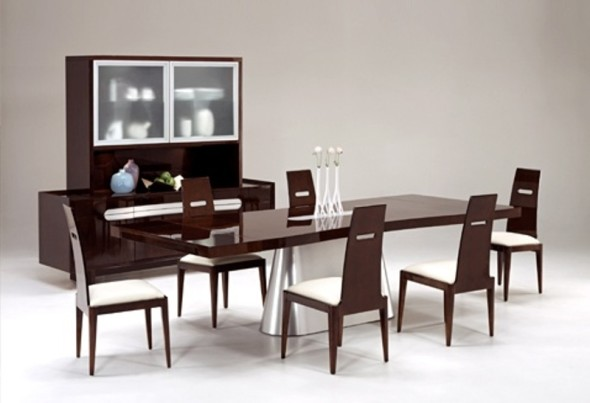 Statements International Aqua Dining Room Set