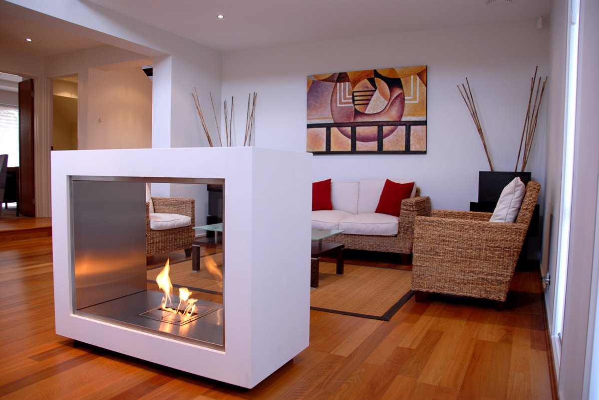 Stylish Fireplace Design by EcoSmart