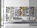 White Wall Storage Decor