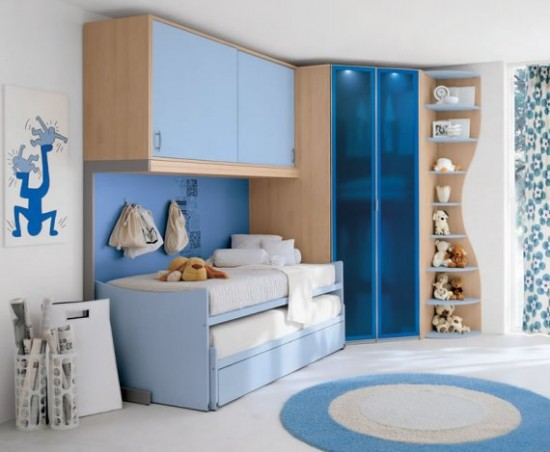 childrens bedrooms furniture blue decor with rug