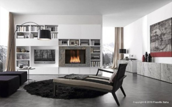 fireplace Presotto Italia