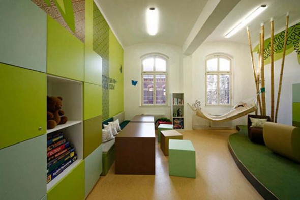 A Fun New Interior Children Interior Room At The Hospital