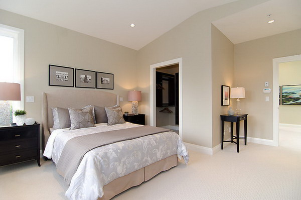 Cream Color for Small Room Design Idea