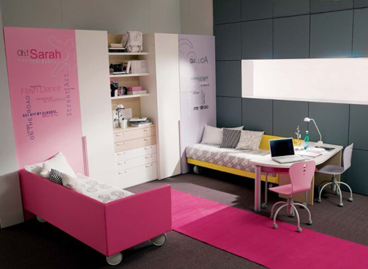 Fresh Cute Pink Bedroom Modernholic