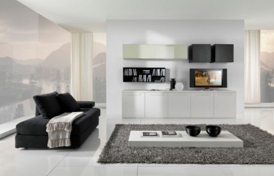 Minimalist Living Room Furniture By Giessegi