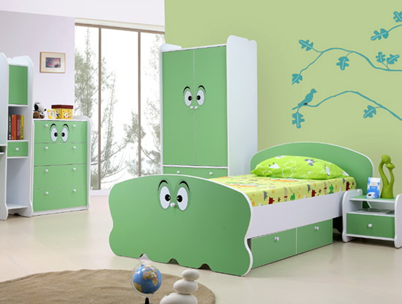 Green Kid Bedroom Furniture