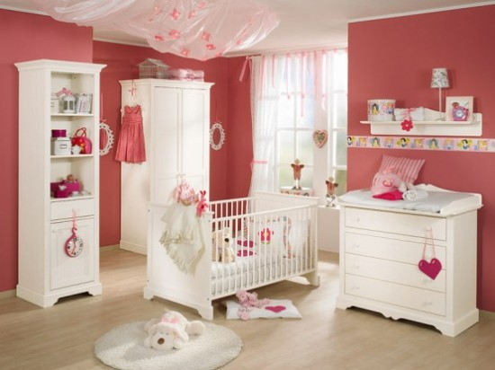 Paidi Baby Furniture Sets red