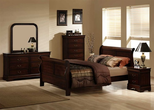 Soothing Warmth Brown Bedroom Interior Design Idea