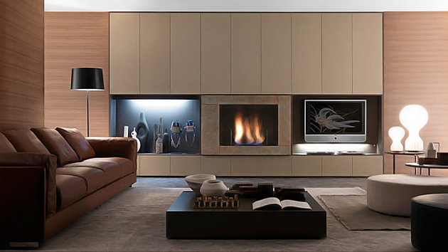 storage unit furniture by Presotto Italia