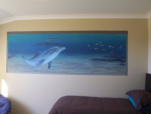 Aquarium Design in living room