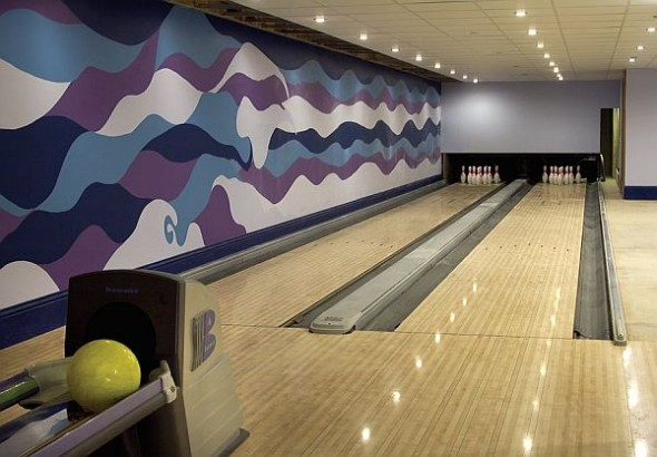 Architecture Most Expensive Estate England bowling alley