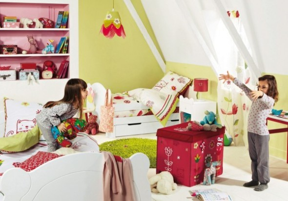 Childrens Bedroom Decorating From Vertbaudet bed Ideas04