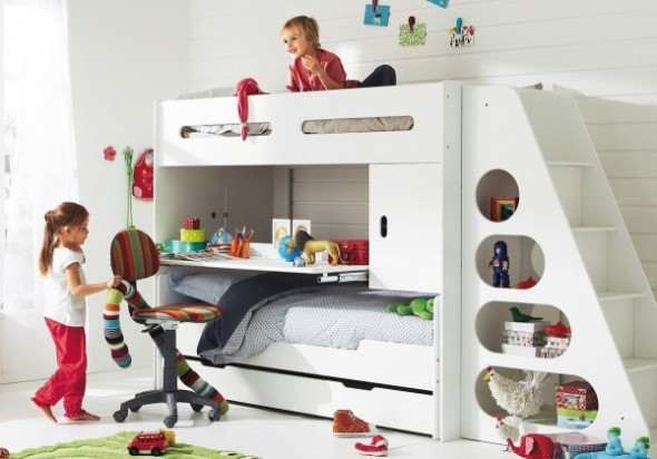 Childrens Bedroom Decorating From Vertbaudet bed Ideas05