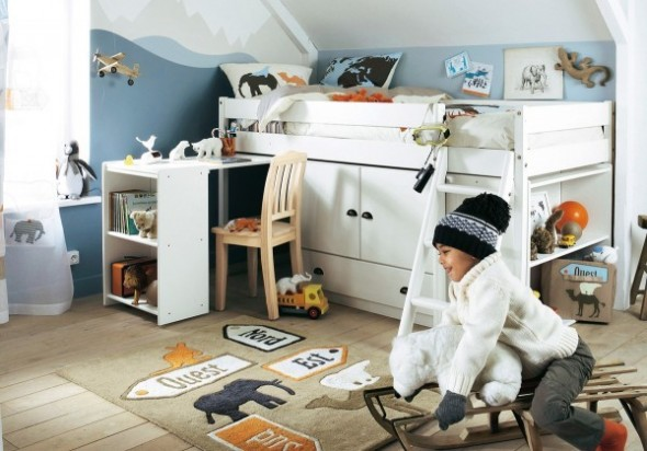 Childrens Bedroom Decorating From Vertbaudet bed Ideas06