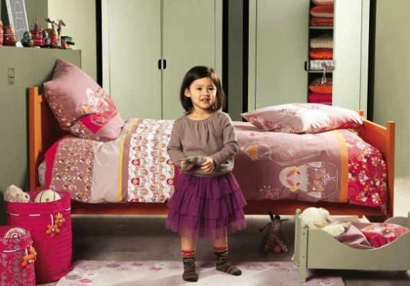 Childrens Bedroom Decorating From Vertbaudet bed Ideas07