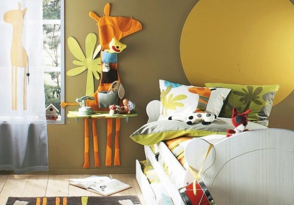 Childrens Bedroom Decorating From Vertbaudet bed Ideas13