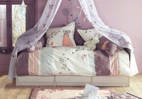 Childrens Bedroom Decorating From Vertbaudet bed Ideas14