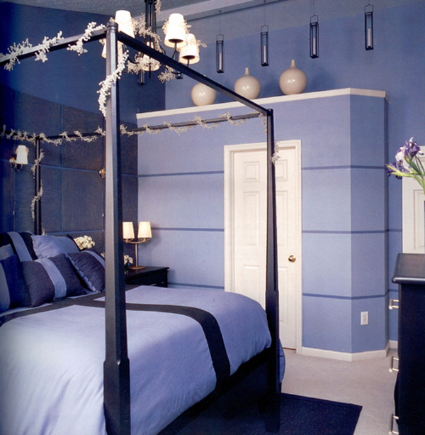 Pictures Of Blue Painted Bedrooms VesmaEducationcom