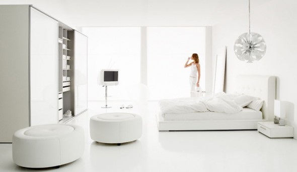 Cozy and Chic white Bedroom