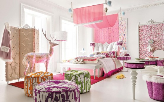 Decorate Bedroom with Pink
