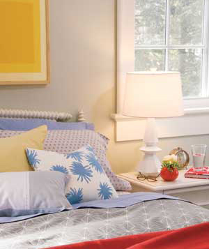Keep Scale in Mind bed room