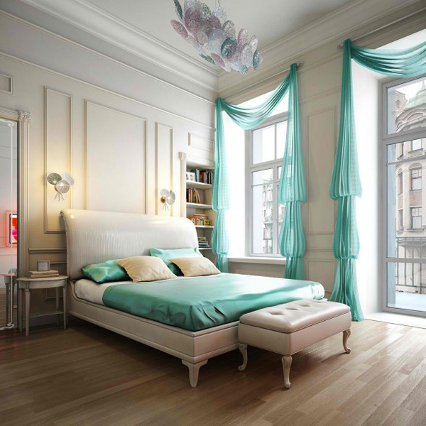 Keep it in Details stylish blue color schemes for bedrooms Image ...