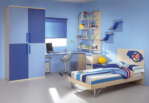 Kids Bedroom Furniture Ideas With Blue Colors