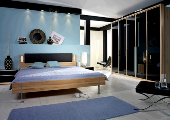 Stylish Blue Color Schemes For Bedroom Modernholic