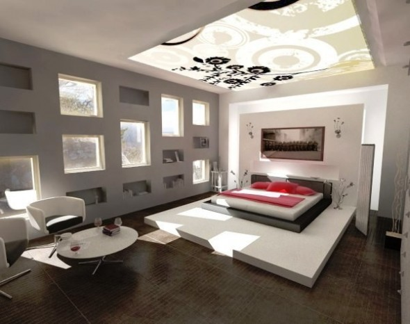 Modern and Stylish Bedroom Designs Ideas30