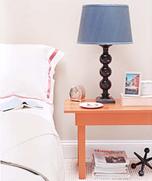 Personalize Your Space lamp bed