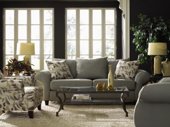 Stylish Gray Room Interior ideas56