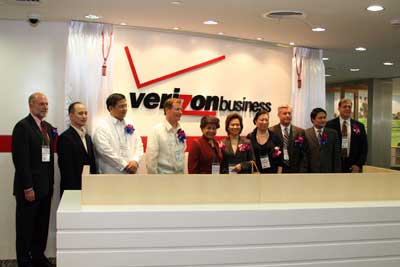 VIPs inaugurate Verizon office