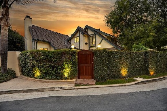 Vintage English country estate in the Hollywood Hills