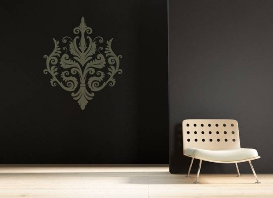 abstractornament wall sticker