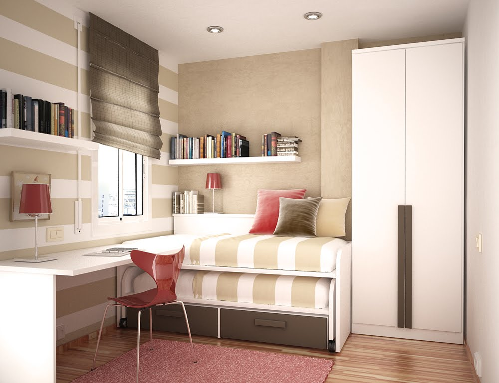 Bed For Two Study Rooms Saving Ideas For Small Kids Rooms