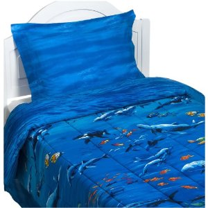 Awesome blue bedding